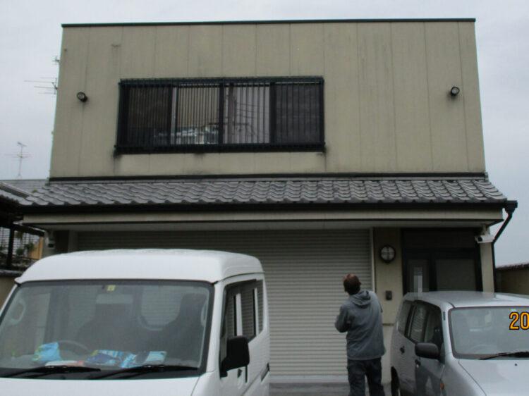 奈良葛城市S様邸 外壁塗装工事 施工前の写真