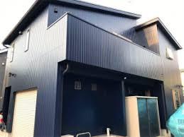 奈良の香芝市の株式会社ヨネヤの外壁塗装と屋根塗装のツヤがあるお家の画像
