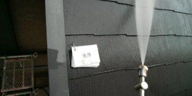 奈良北葛城郡上牧町H様 外壁塗装・屋根塗装・ベランダ防水工事 屋根高圧洗浄