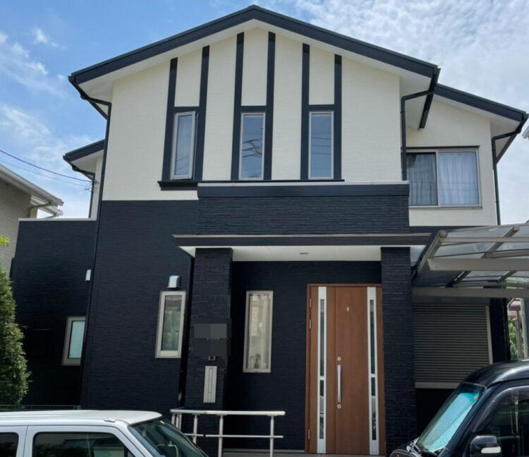 奈良香芝市I様邸 外壁塗装・屋根塗装・防水工事 施工後の写真