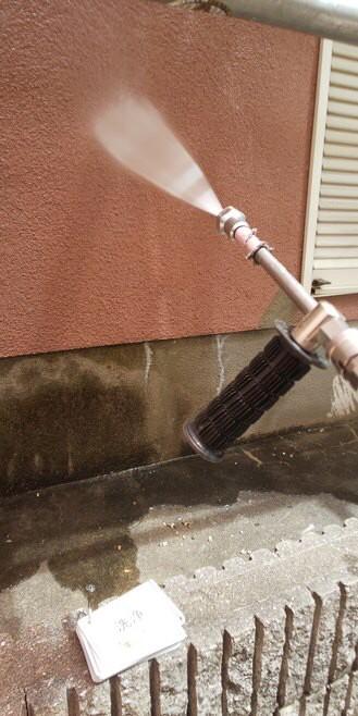 奈良北葛城郡上牧町O様 外壁塗装・屋根塗装工事 洗浄