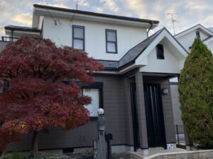 奈良香芝市S様邸 外壁塗装・屋根塗装・防水工事