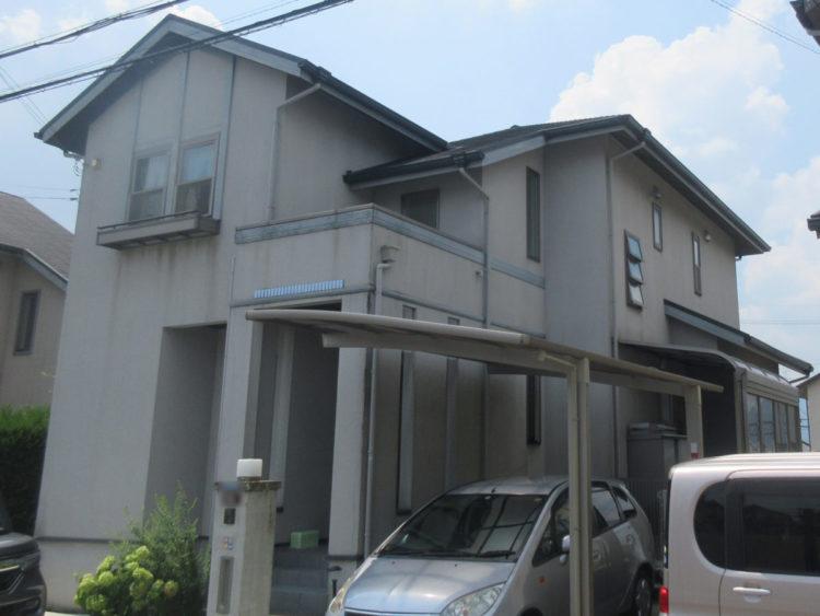 外壁塗装 UVアクアコート 施工前の写真
