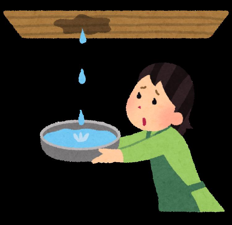奈良の香芝市の株式会社ヨネヤの外壁塗装と屋根塗装の雨漏り