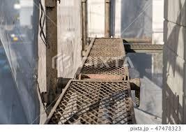 奈良の香芝市の株式会社ヨネヤの外壁塗装と屋根塗装の足場