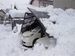 奈良の香芝市の株式会社ヨネヤの外壁塗装と屋根塗装の雪災破損