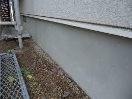 お家の基礎部分の塗装について