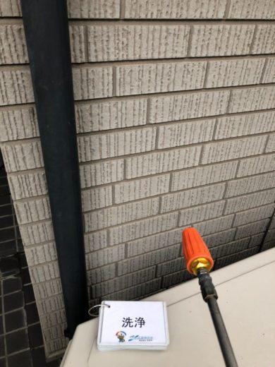 奈良香芝市I様 外壁塗装工事 高圧洗浄