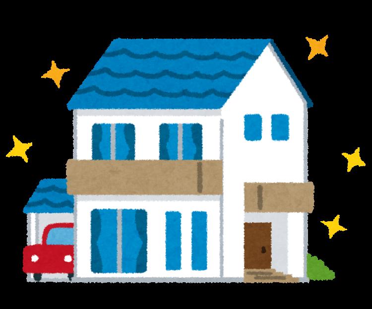 奈良の香芝市の株式会社ヨネヤの外壁塗装と屋根塗装の家