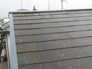屋根塗装 クールタイト 施工前の写真
