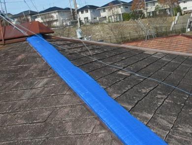 屋根塗装 屋根フレッシュ 施工前の写真