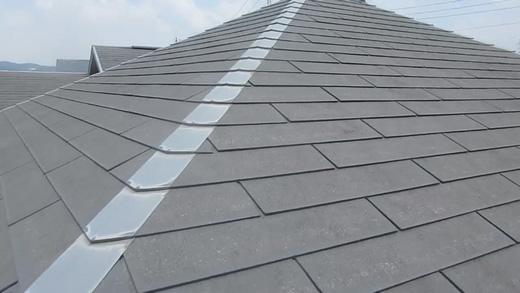 屋根塗装 無機UVコートルーフ 施工前の写真