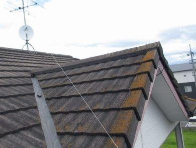 屋根塗装 マイルドフッ素 施工前の写真